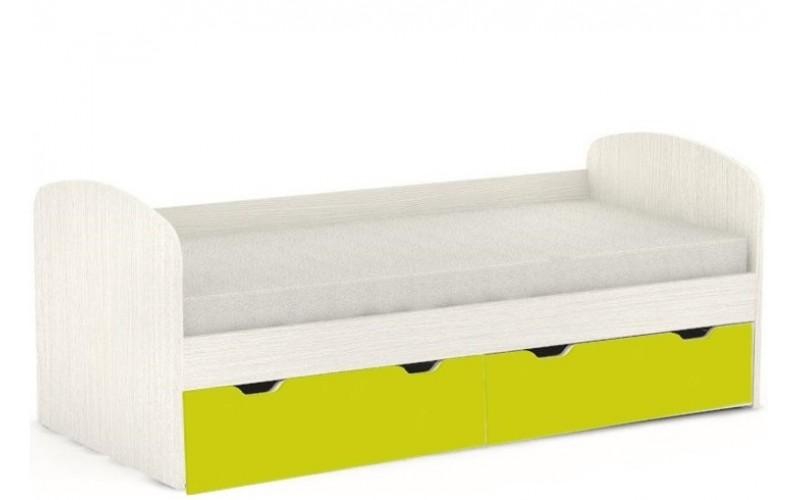 REA GOLEM navarra + farebné čelo, posteľ v šírke 90 x 200 cm