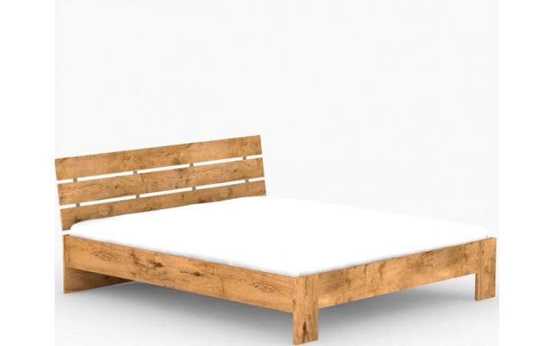 REA NASŤA 180 dub lancelot, posteľ v šírke 180x200 cm