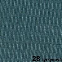 28 tyrkysová