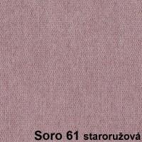 Soro 61 staroružová