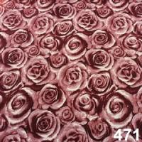 471 bordovo-biele kvety