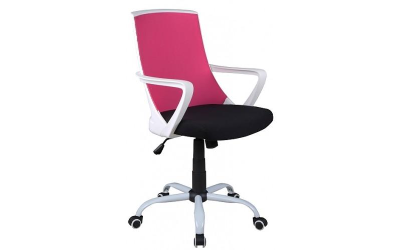 S-248 ružovo-čierna, kancelárske kreslo