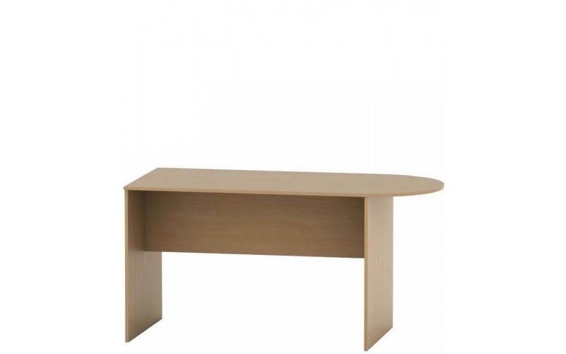 ASISTENT buk AS 022-ZA, kancelársky zasadací stôl s oblúkom