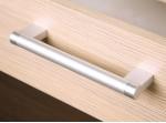 MODENA biely lesk/grafit matný MD03/G40, horná skrinka v šírke 40 cm