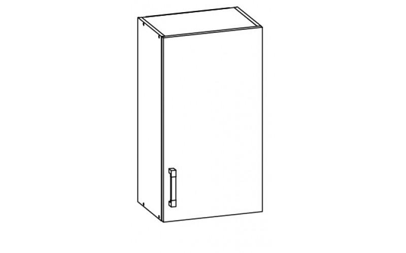 EDAN MDF G50/95, horná skrinka v šírke 50 cm a výške 95 cm