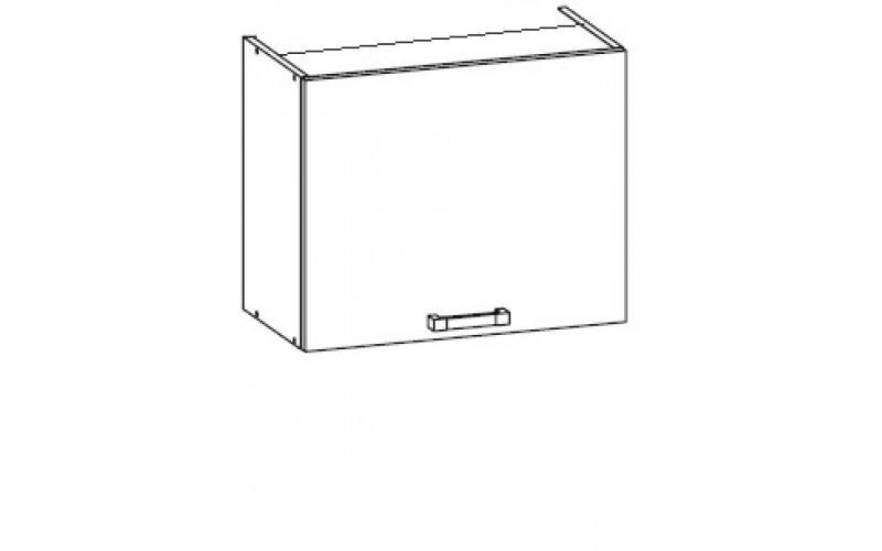 TOP LINE biela GOO60/50, horná skrinka na vstavaný digestor v šírke 60 cm a výške 50 cm