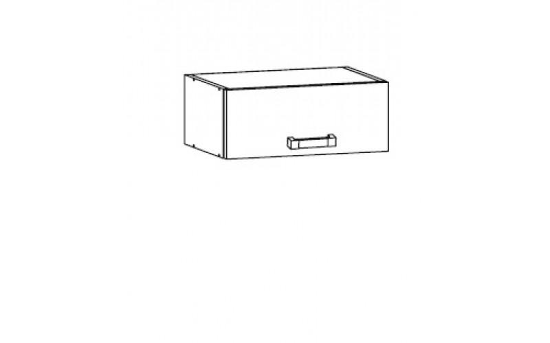 HAMPER dub lancelot NO-40/23-O, nadstavec na potravinové skrine v šírke 40 cm