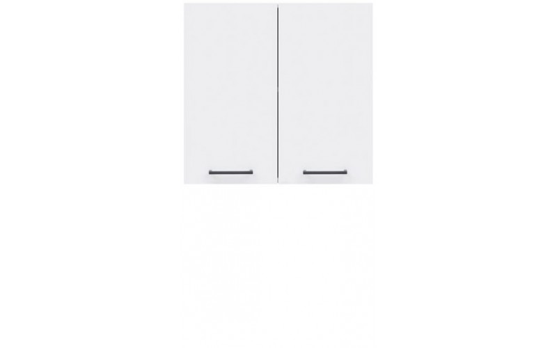JUNONA LINE biely lesk G2D-60/57, horná skrinka v šírke 60 cm a výške 57 cm