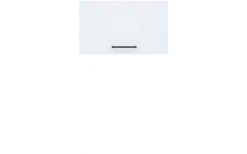 JUNONA LINE biely lesk GO/50/30, horná výklopná skrinka v šírke 50 cm a výške 30 cm
