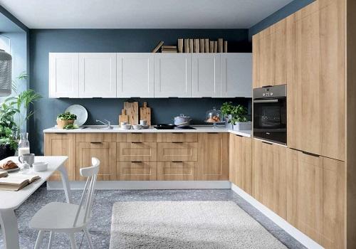 EDAN MDF dub reveal/biely canadian, sektorová kuchyňa