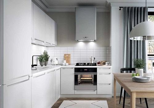 IRIS biela matná, sektorová kuchyňa
