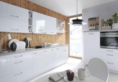 TAFNE MDF biely lesk, sektorová kuchyňa