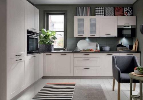 EDAN MDF pieskovo-béžová, sektorová kuchyňa