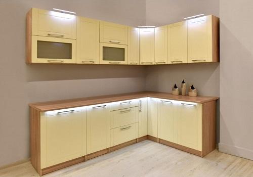 EKRAN MDF vanilka, sektorová kuchyňa