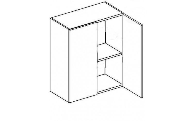 EKRAN MDF W60, horná skrinka v šírke 60 cm