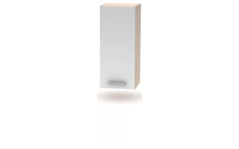 NOVA PLUS NOPL-002-0H dub sonoma/biela, horná skrinka v šírke 30 cm