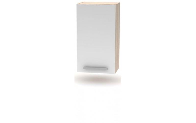 NOVA PLUS NOPL-005-0H dub sonoma/biela, horná skrinka v šírke 40 cm