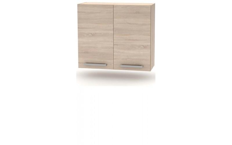 NOVA PLUS NOPL-014-0H dub sonoma, horná skrinka v šírke 80 cm