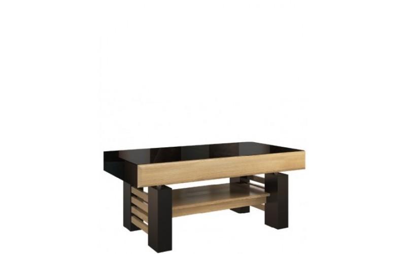 SMART konferenčný stolík rozložiteľný na jedálenský stôl II v rozmere 120-160 x70 cm