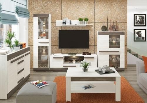 BLANCO obývacia stena