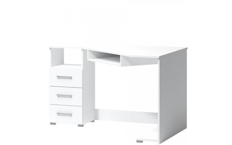 TATRIS 17L biela, rohový stolík - ľavý