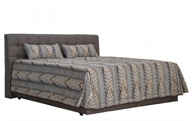MONACO tmavohnedá, vysoká posteľ v rozmere 180x200 cm