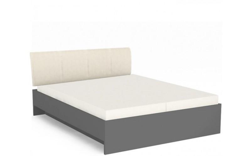 REA SAXANA 1 šedý grafit, posteľ v šírke 180 x 200 cm