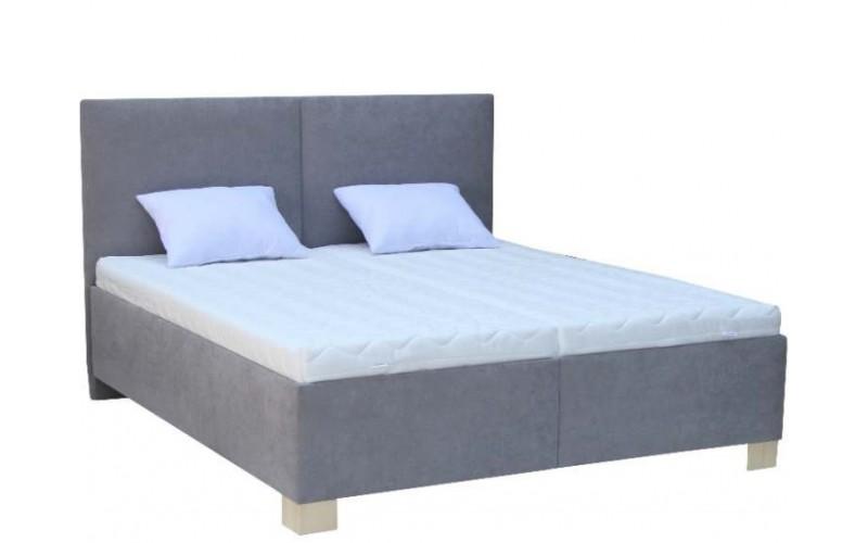 MILTON čalúnená posteľ v šírke 160 x 200 cm
