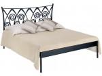 RONDA I kovaná posteľ - verzia kanapa (bez čela pri nohách) v šírke 160 a 180 x 200 cm