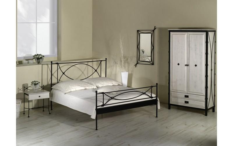 THOLEN II kovaná posteľ v šírke 90, 140, 160 a 180 x 200 cm
