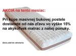 JANA SENIOR buková/dubová posteľ 180 x 200 cm