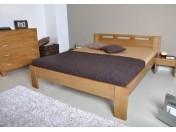 NELA masívna drevená spálňa (buk, dub)
