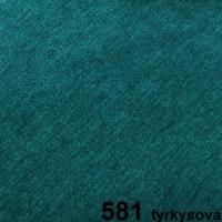 581 tyrkysová